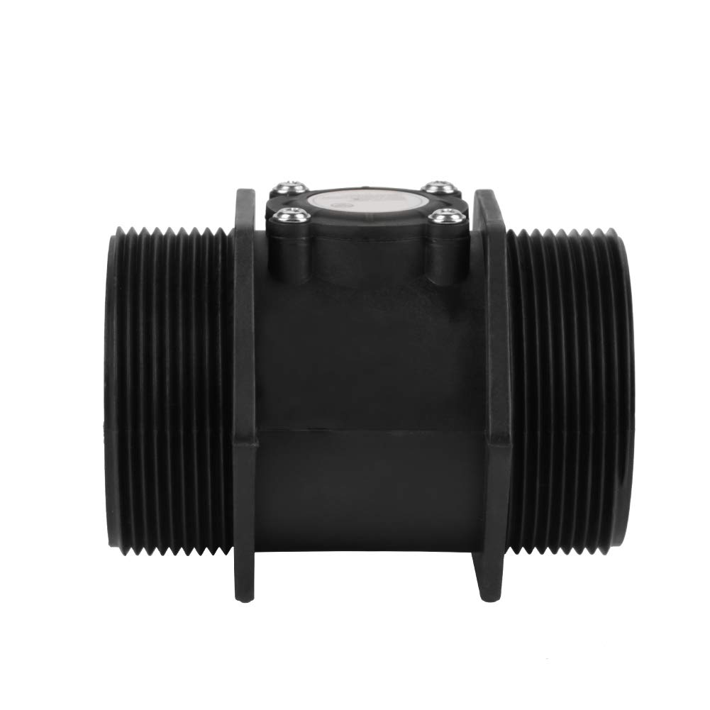 Turbine Flow Meter DN50 G2 Turbine Flowmeter Water Flow Hall Sensor Switch Meter for Water Heater