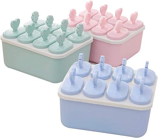 mi ji Pop Hielo moldes Reutilizables de Hielo 8 Pop Fabricantes de ...