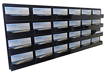 Amazon Source One 24 Pocket Wall Mount Business Card Holder