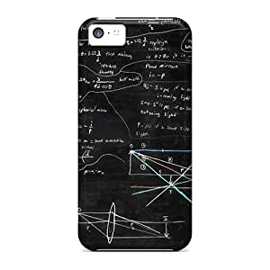 Hard Plastic Iphone 5c Case Back Cover,hot Math And Blackboard Case At Perfect Diy