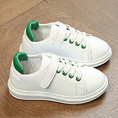 Baby schuhe,Sunnyyoyo Baby Kinder Jungen Mädchen Mode Lässig Running Sportschuhe Sneaker Grün