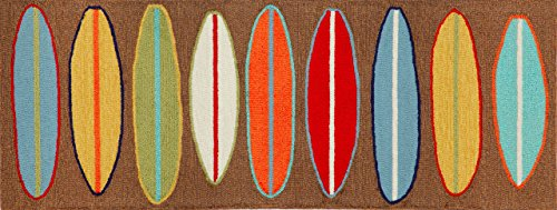 Colorful Surfboards Rug