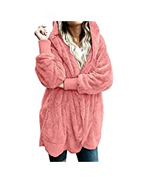 Amzeca Women Hooded Coat Jacket Hoodies Women's Shops Sweatshirts