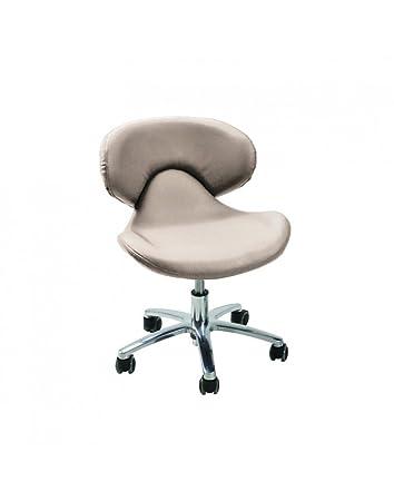 Continuum Standard Salon Spa Nail Technician Chair In ALMOND FREE Cape Co Apron 20 value