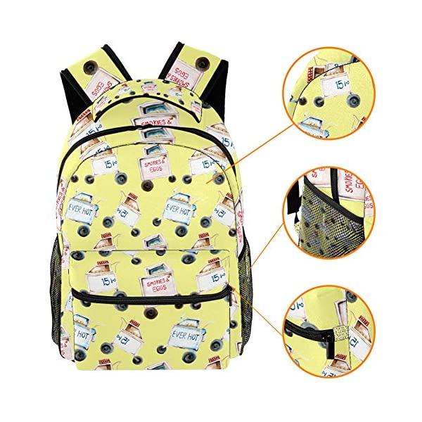 Zaini scolastici 40,6 cm per studenti, borsa da viaggio per computer portatile – trolley auto 3 spesavip