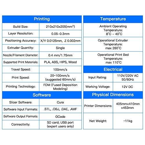 ANYCUBIC 3D Printer I3 Mega Plus Size Full Metal Frame Platform Desktop  Industrial Grade High Precision 3d Drucker Kits Filament