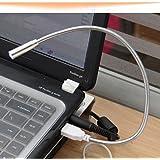 HuaYang Mini Portable USB LED Lampe angle réglable lampe USB pour PC Notebook Laptop