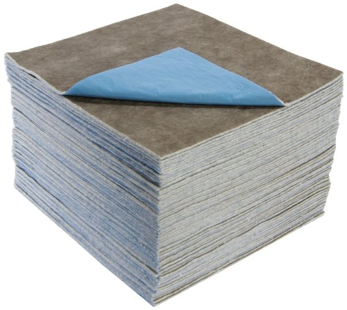 ESP XUCGPL-PLY Ultraclean Poly-Backed Fiber Extra Heavy Weight Maintenance Universal Absorbent Laminated Pad, 18