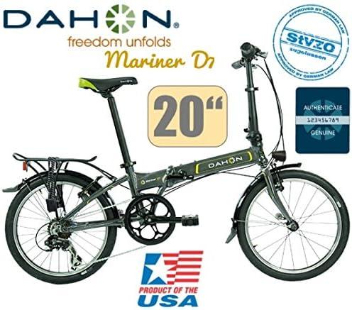 Dahon Mariner D7 Uni 7 marchas Graphite/20/LED/Deluxe Set de luz ...