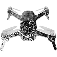 Skin For Yuneec Breeze 4K Drone – Black Flourish | MightySkins Protective, Durable, and Unique Vinyl Decal wrap cover | Easy To Apply, Remove, and Change Styles | Made in the USA
