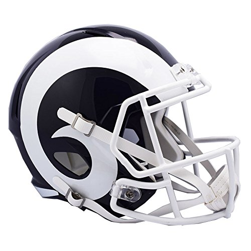 Riddell Los Angeles LA Rams NEW 2017 Officially Licensed Speed Full Size Replica Football Helmet