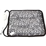 Pet Heating Pad, Dog Cat Electric Heating Pad Waterproof Adjustable Warming Mat with Chew Resistant Steel Cord 17.7