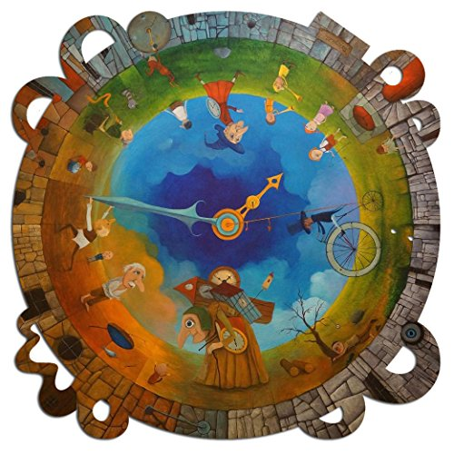 (Artifact Puzzles - Tomasz Pietrzyk Circle of Time Wooden Jigsaw Puzzle)
