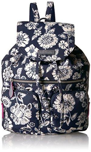 Vera Bradley Women's Midtown Cargo Backpack, midnight floral (Vera Bradley On The Go Midnight Blues)
