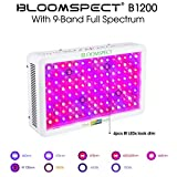 BLOOMSPECT 1200W LED Grow Light: Full Spectrum for