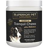 Superior Pet Calming Aid Plus Melatonin - 120 Soft Chews