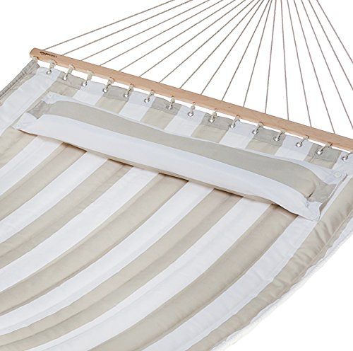 AmazonBasics Pillow Top Hammock, Grey and - Only Hammock