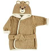 Luvable Friends Animal Hooded Bathrobe, Bear