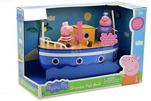 Peppa Pig Grandpas Pigs Boat Pouch Peppa Exclusive Peppa Pig Grandpa Pigs
