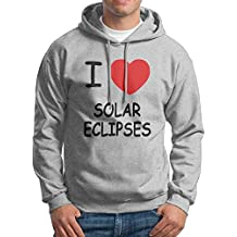 Corelosa I Heart Lunar Eclipses Men's Hoodies