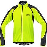 GORE BIKE WEAR, Men´s, 2 in 1 road cyclist jacket, GORE WINDSTOPPER Soft Shell, PHANTOM 2.0, Size M, Neon Yellow/Black, JWPHAM
