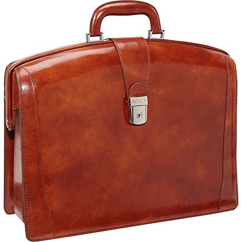 Bosca Old Leather Collection Partners Briefcase (Amber)