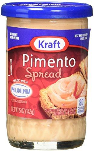 - Kraft Cheese Spread, Pimento, 5 Ounce