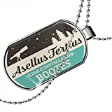 Dogtag Star Constellation Name Bootes - Asellus Tertius Dog tags necklace - Neonblond