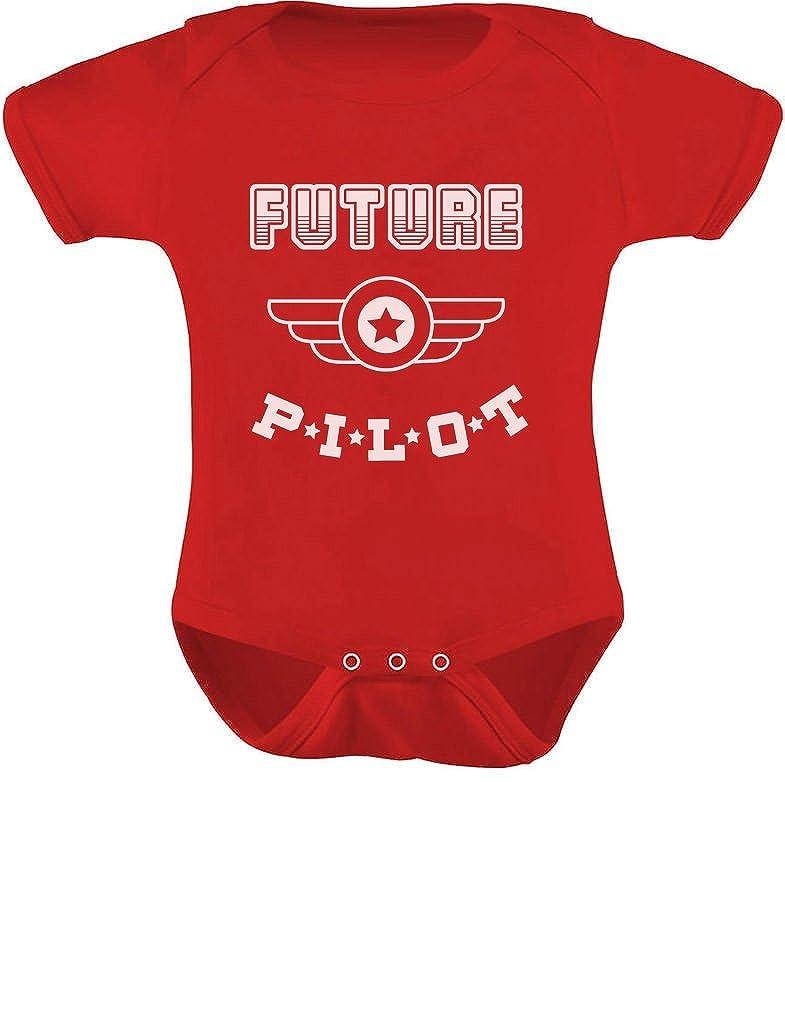 TeeStars - Future Pilot - Funny Bodysuit Baby Grow Vest Unisex Baby Onesie GM0Za0gj