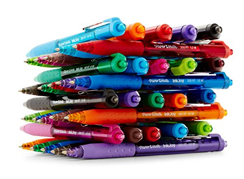Paper Mate InkJoy 300RT Retractable Ballpoint Pens, Medium Point, Assorted, 6 Pack (1945916) Photo #8