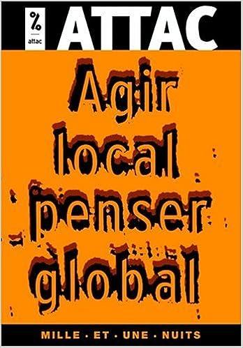 Livres gratuits Agir local, penser global pdf