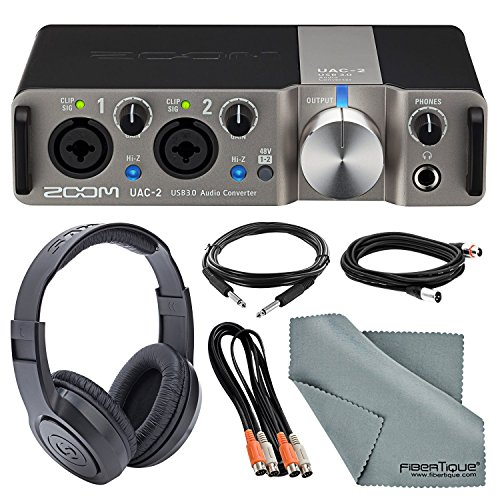 Zoom UAC-2 Two-Channel USB 3.0 Audio Interface Deluxe Bundle