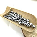 Hanchen Stainless Steel Grinding Balls Media Beads 250g Lab Ball Mill Grinding Media for Lab Planetary Ball Mill (10mm, 201)