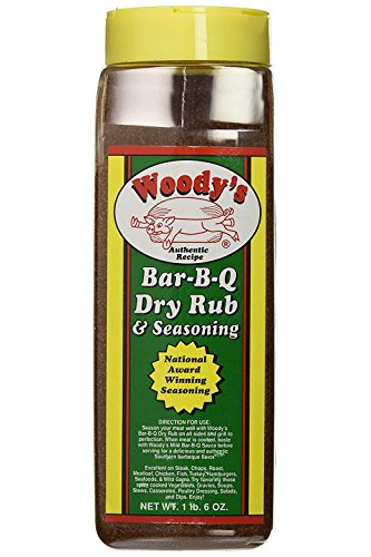 RetailSource Authentic Recipe Bar-B-Q Dry Rub & Seasoning, 22 Ounce, 2 Count
