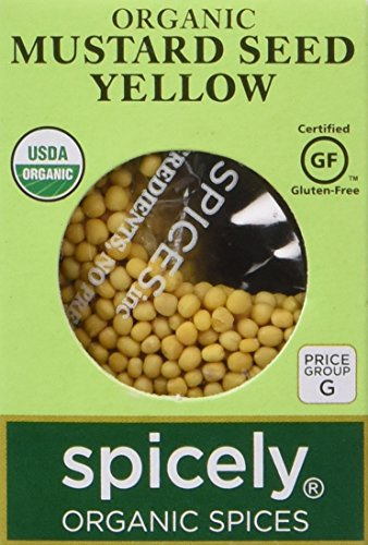 Spicely Organic Mustard Seed Yellow - Compact