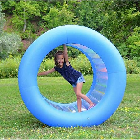 Expect More Inflatable Land Wheel Rolling Alone or Pushing Your Friend Makes for Fun and Giggles (Inflatable Ball To Roll In For Kids)