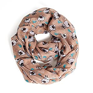Kids Infinity Scarf Lightweight Toddler Girls Loop Scarves for Women Boys by A Sund