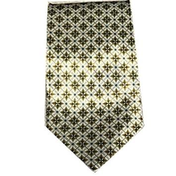 Corbata de Caballero Gris Seda a Rombos: Amazon.es: Electrónica