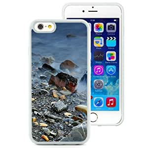 Fashionable Custom Designed Samsung Galaxy Note3 Inch TPU Phone Case With Rocks And Fog_White Phone Case