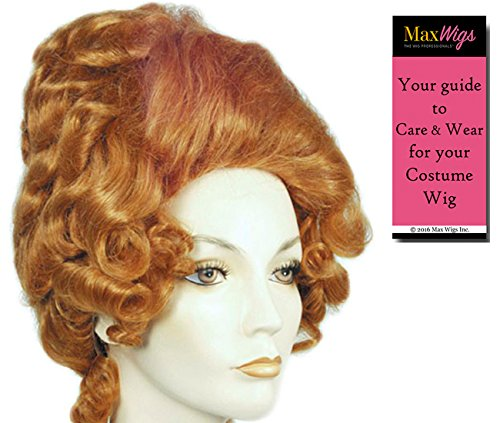 Beehive Blue Wig (Big Momma Beehive - Lacey Wigs Women's Lawrence Mama Motormouth Maybelle Bundle with MaxWigs Costume Wig Care Guide)