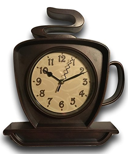 (Coffee Cappuccino Wall Clock)