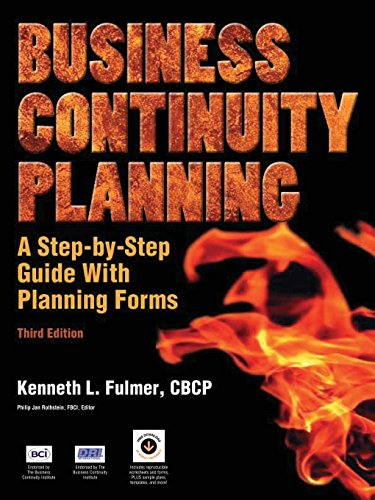 Business Continuity Planning: A Step-by-Step Guide with Planning Forms Pdf