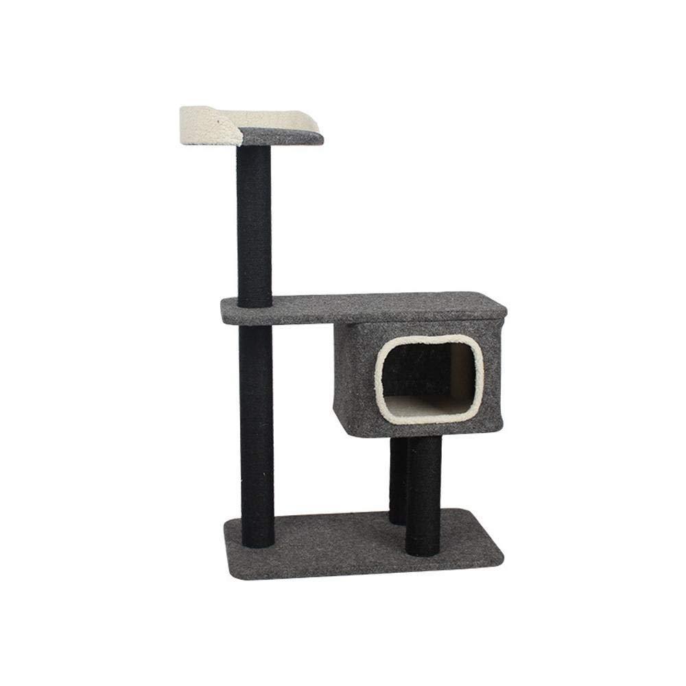 bluee Weiwei Cat Climb Frame cat Nest cat Tree cat Platform Cat Scratch Plate sisal for Sleeping Game 40cm 40cm  45cm