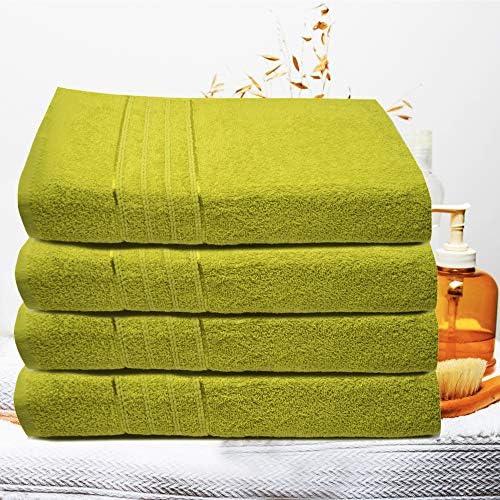 asciugatura rapida viso facili da pulire altamente assorbenti palestra e spa multiuso 50x90 mani bianco Asciugamani in cotone per bagno confezione da 6
