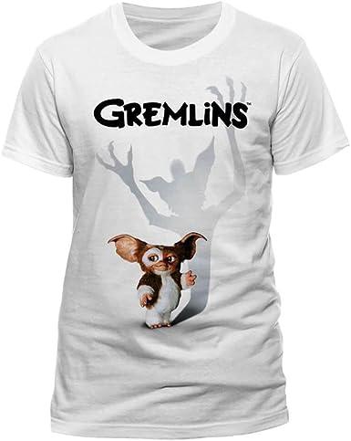 Nololy Gremlins Gizmo Shadow Camiseta de algodón 100% para Hombres ...