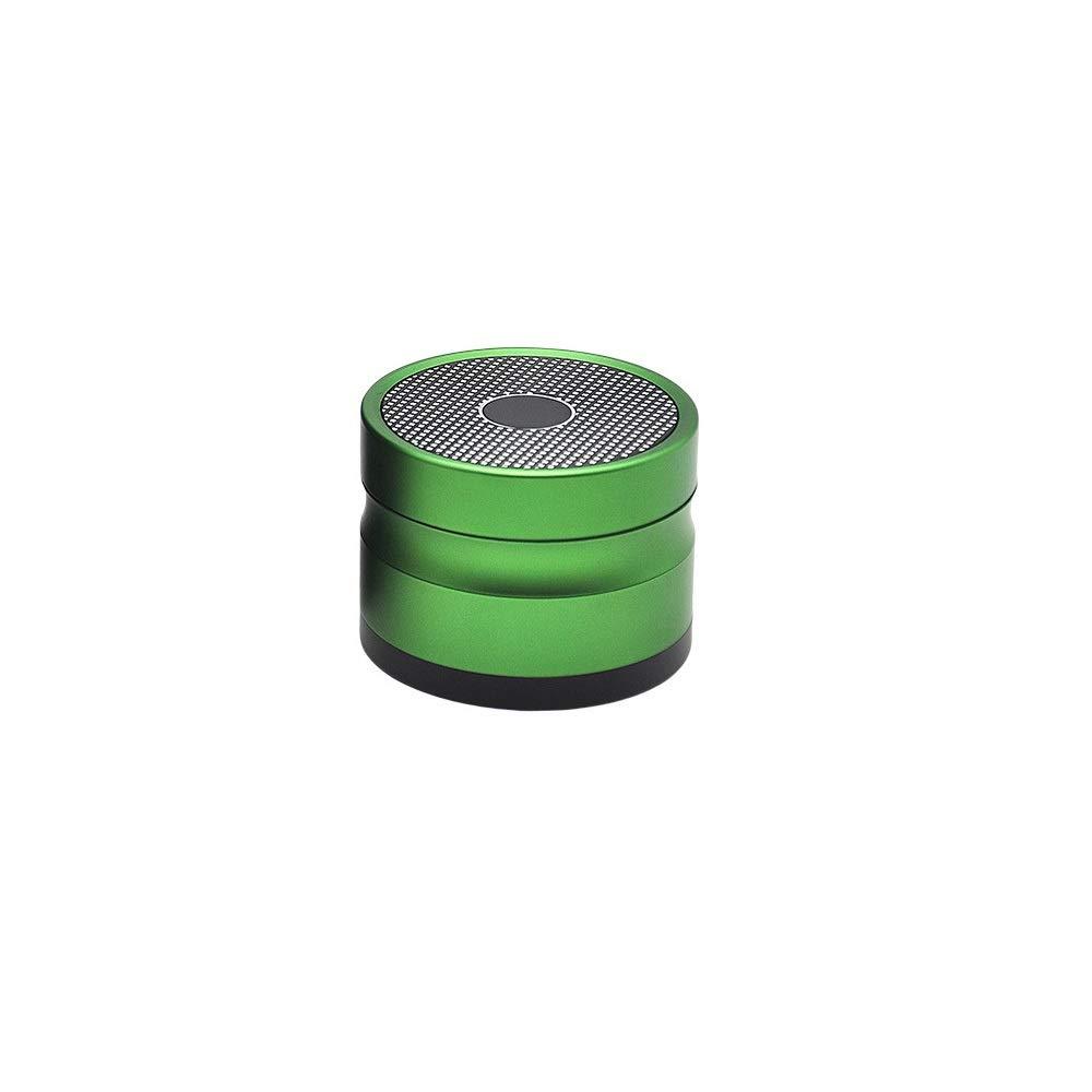 Yzyamz Herb Grinder Aluminum Four-layer Acoustic Grinder Portable Manual Grinder Bench Grinder, 2.5in'' (63Mm) (Color : Green) by Yzyamz