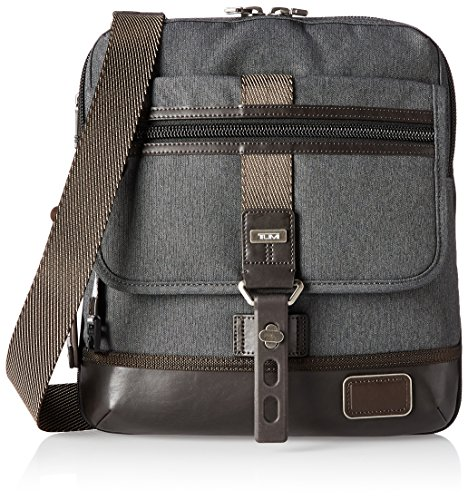 Tumi Alpha Bravo Annapolis Zip Flap, Anthracite, One Size by Tumi