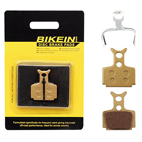 BIKEIN 2 Pairs Mountain Bike Metallic Disc Brake Pads for Formula The One R1 R1R RO RX T1 Mega The One FR C1 CR3 Cycling Parts