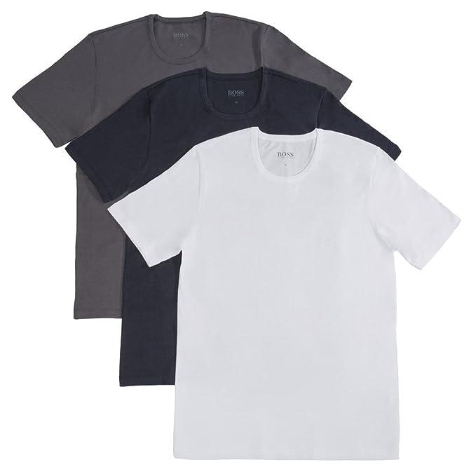 BOSS Hugo Camiseta para Hombre (Pack de 3)