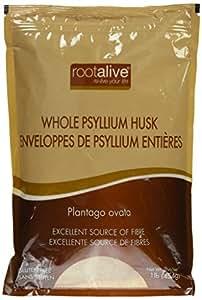 Rootalive Psyllium husk whole 1lb.